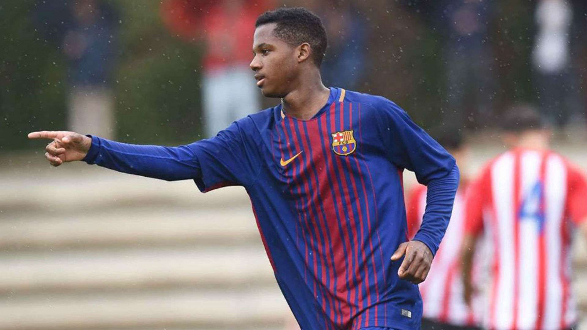 Who Is Ansu Fati Barcelona S 16 Year Old Debutant S Journey From Rolled Up Socks And Rejecting Real Madrid Goal Com