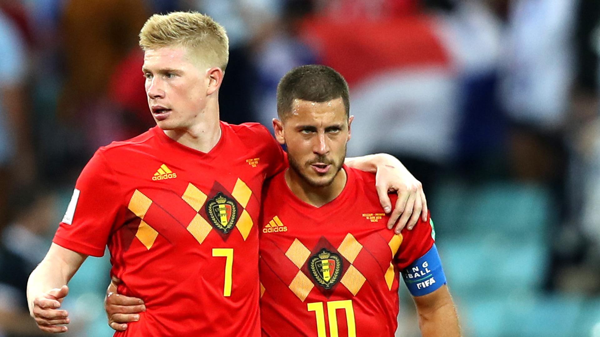De Bruyne e Hazard em ação