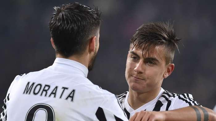 Morata Dybala Juventus