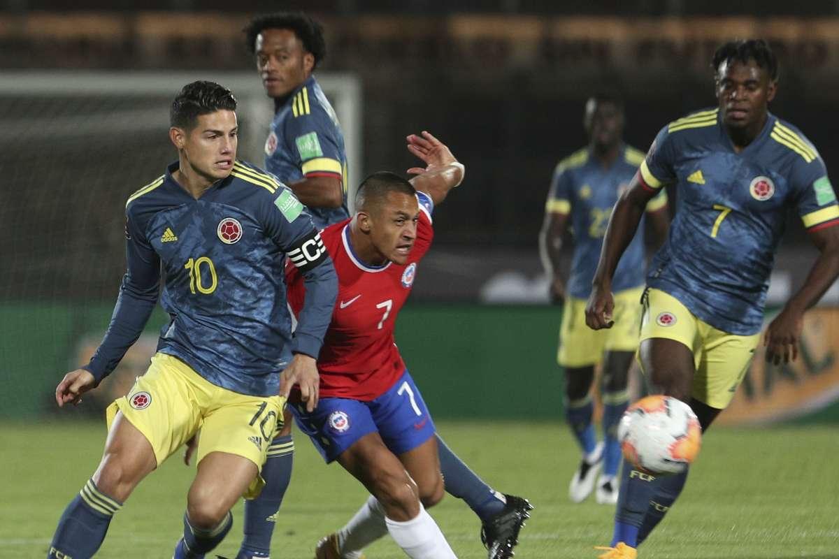 Chile vs. Colombia en vivo por las Eliminatorias: partido online,  resultado, formaciones y suplentes   Goal.com