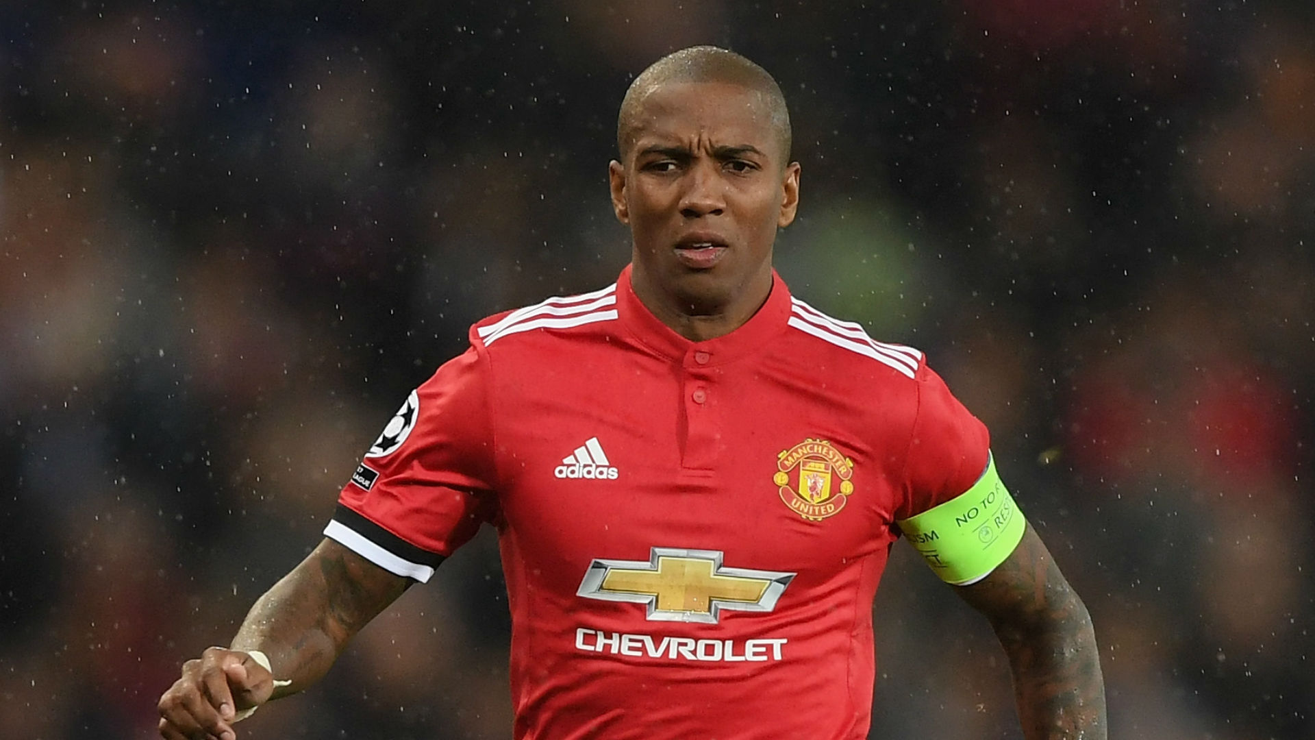 Manchester United News Ashley Young Out To End 16 Month