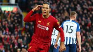 Virgil van Dijk Liverpool Brighton