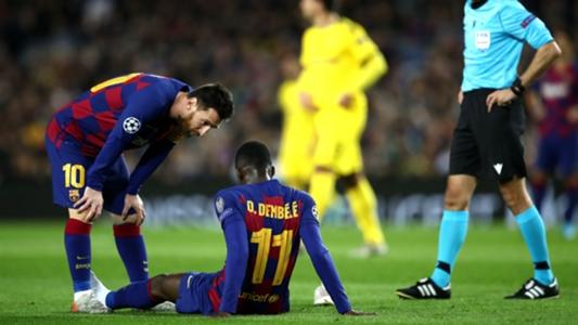 Dembélé solo ha jugado un tercio de los minutos con el Barcelona | Goal.com