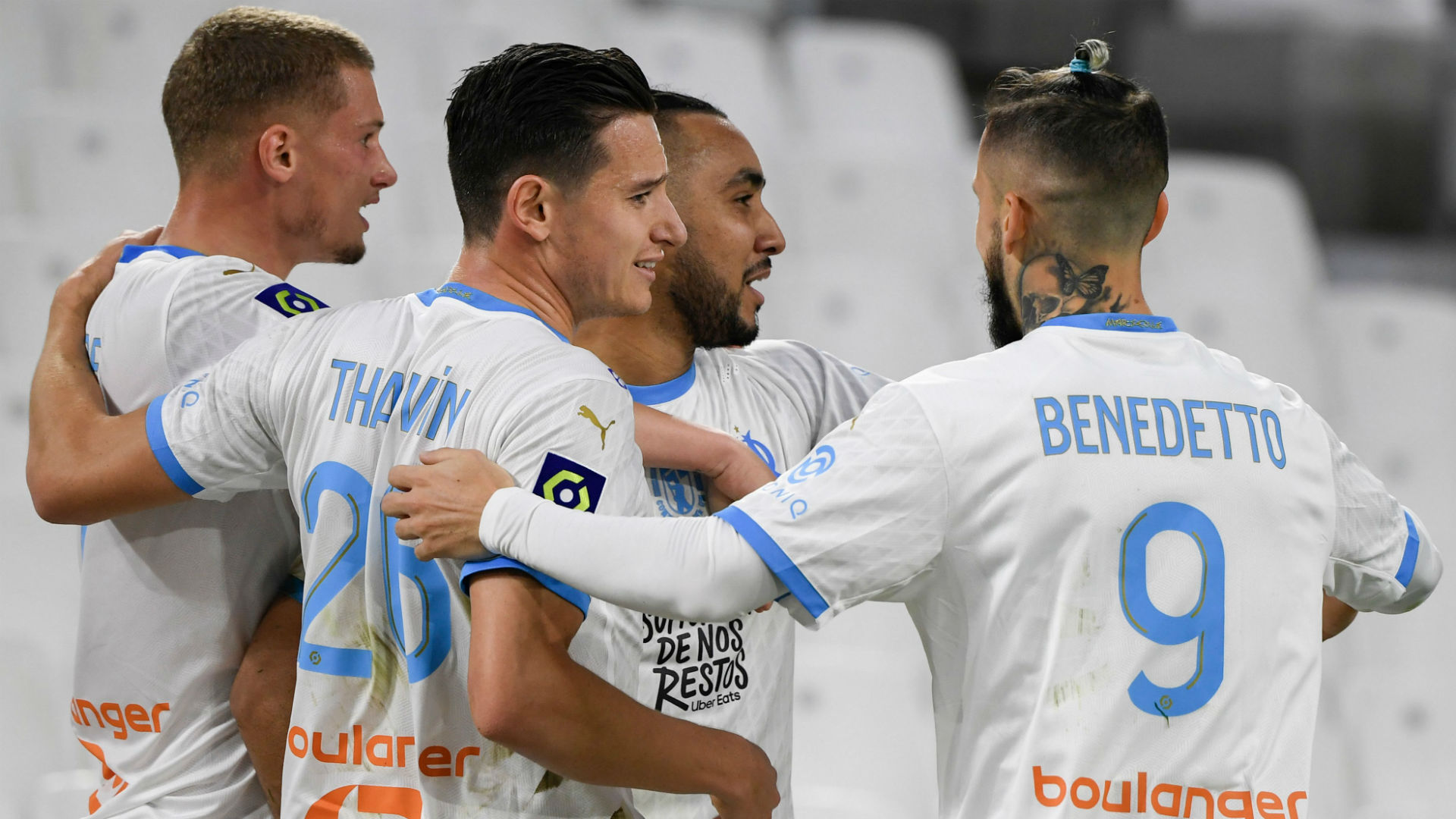 Marseille end record-breaking Champions League losing streak with win over Olympiacos