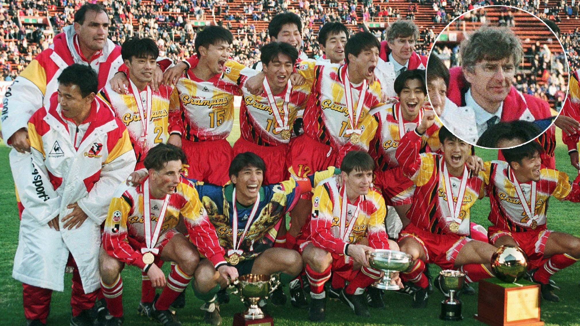 Arsene Wenger Nagoya Grampus Eight