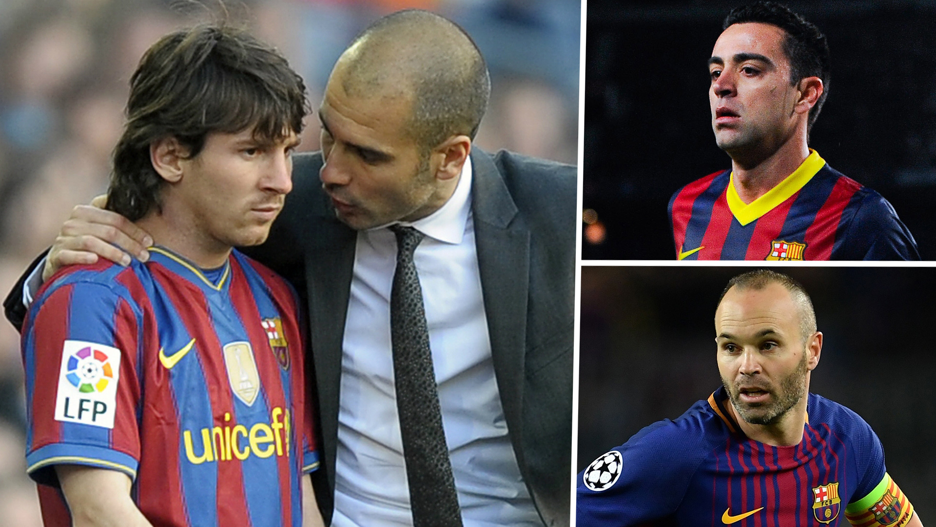Guardiola The Turning Point In The History Of Barcelona How Lucky Messi Xavi Iniesta Made It At Camp Nou Goal Com