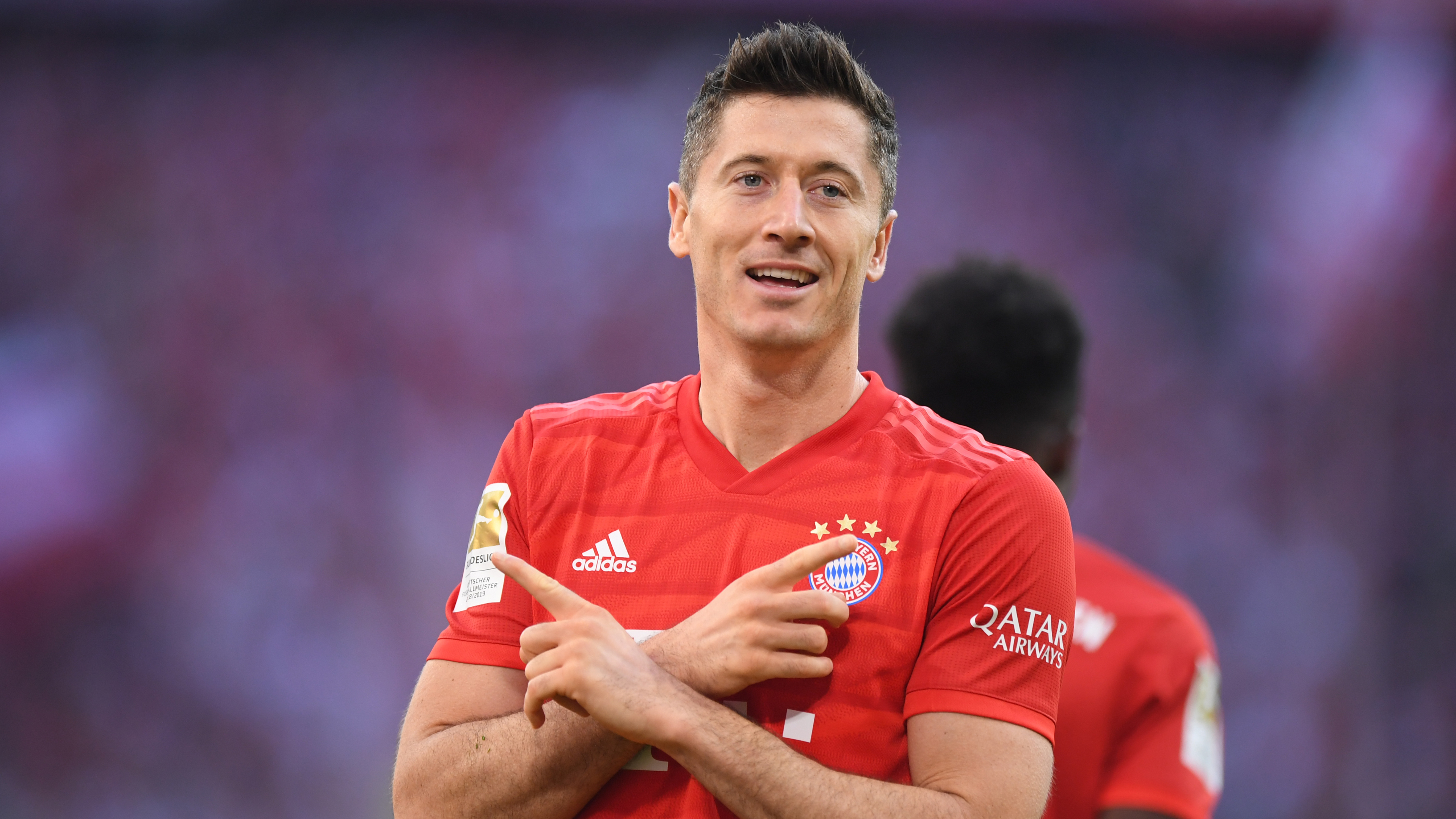 Lewandowski records personal best with 44th goal of the season for Bayern Munich