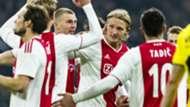 Kasper Dolberg Ajax - VVV-Venlo 02022019