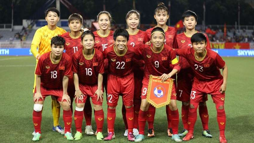 Vietnam Women's National Football Team | Vietnam vs Thailand | SEA Games 30 Finals