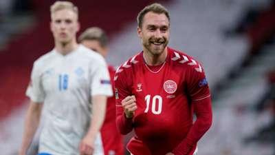 Eriksen Denmark Iceland Nations League