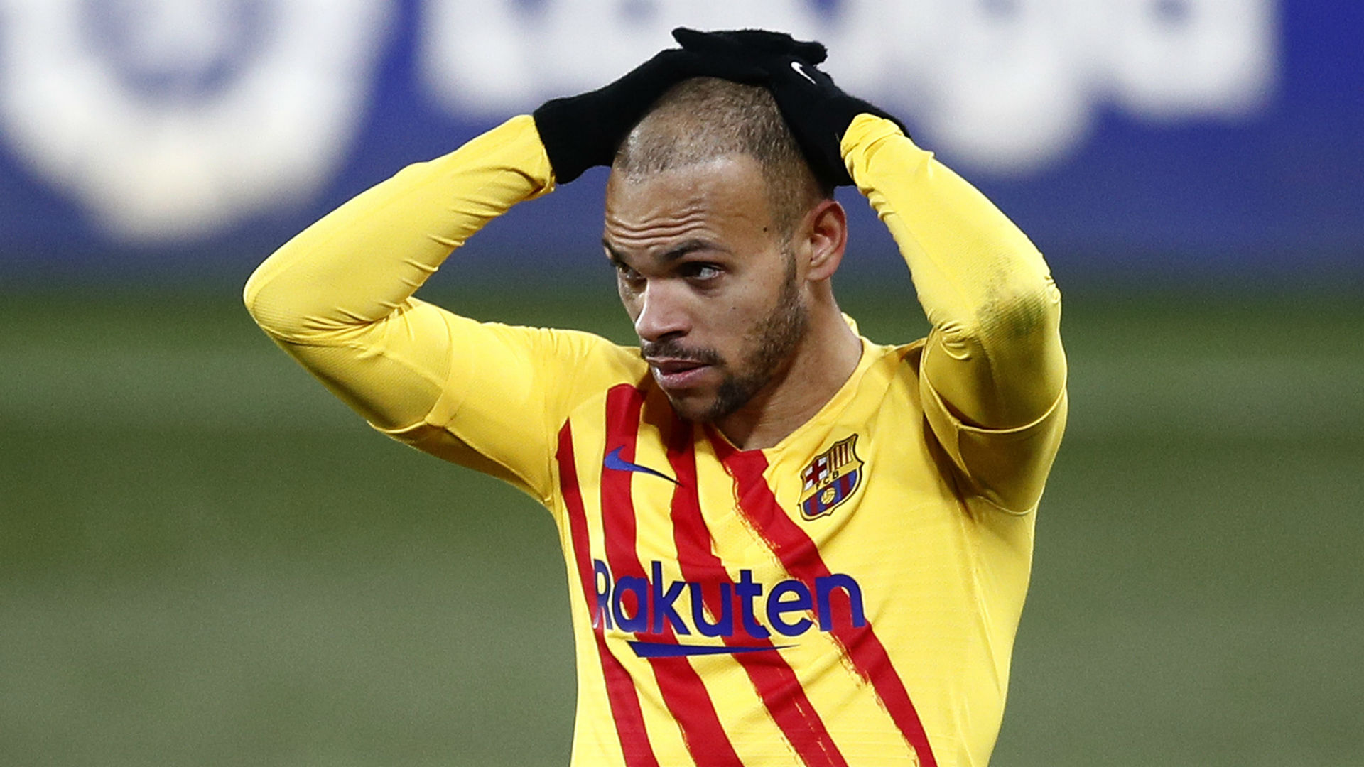 Braithwaite 'likes' that Barcelona want another forward as he vows to remain at Camp Nou