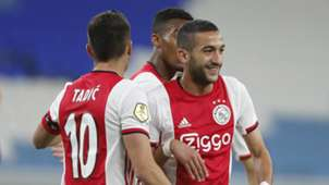 Hakim Ziyech, Ajax - Club Brugge, 01112020 *USE ON GOAL NETHERLANDS ONLY*