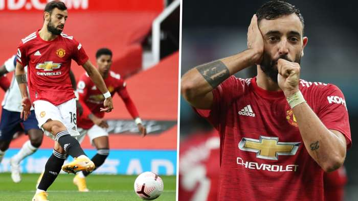 Bruno Fernandes Manchester United 2020-21 penalty