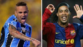 Luan Gremio Ronaldinho Barcelona