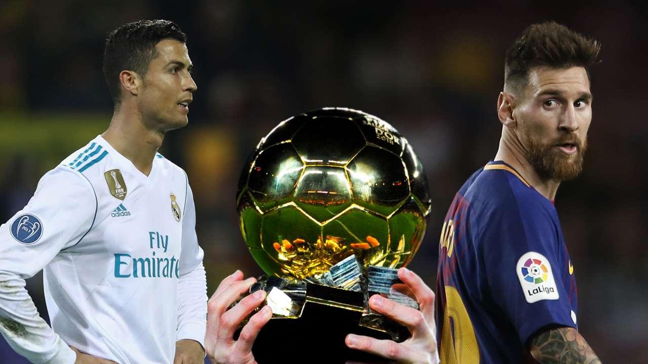 Ronaldo, Messi, Ballon d'Or