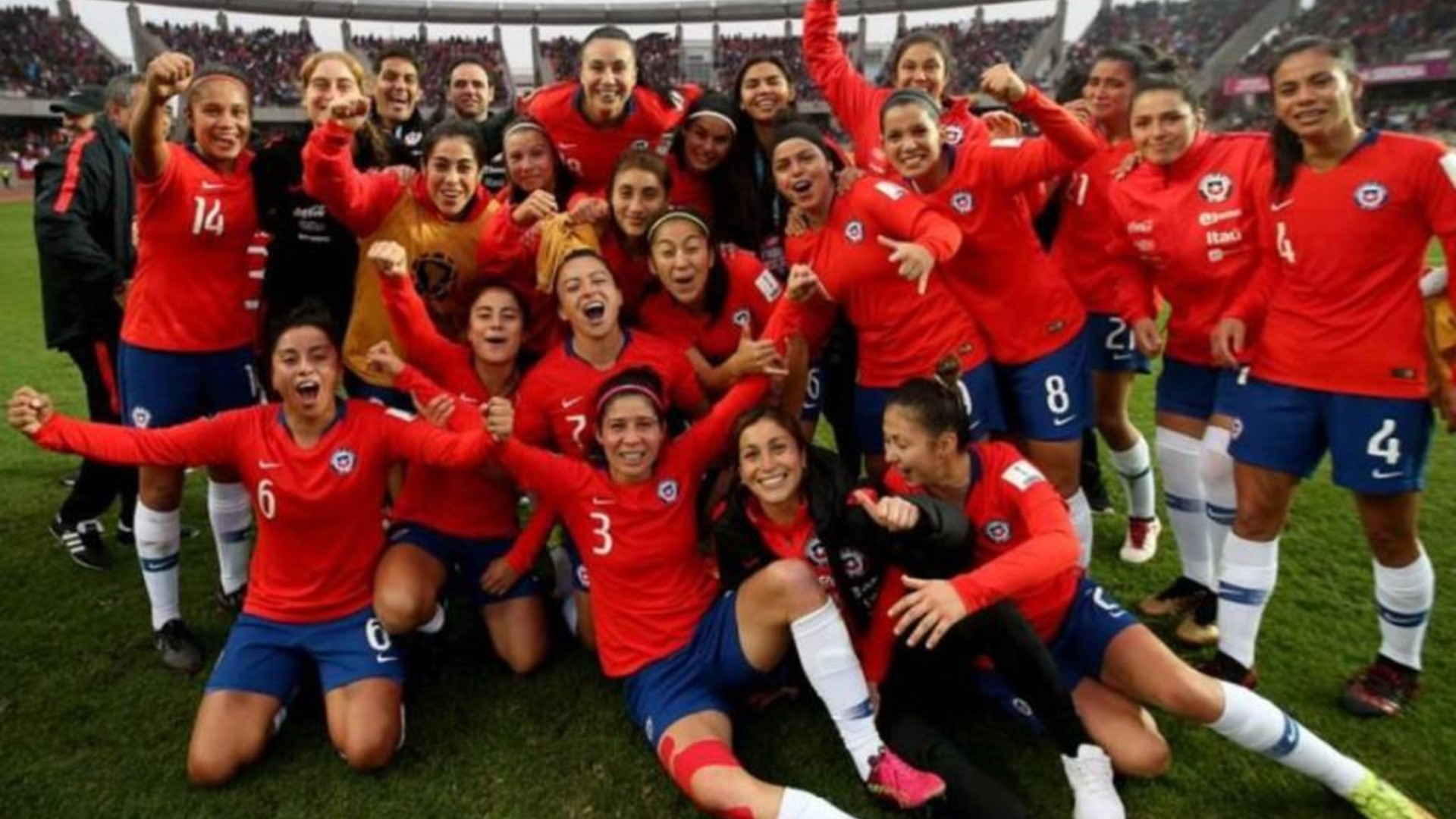 Chile resume training for Women's Olympic Games play-off against Cameroon