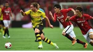 20170716-Mario Götze Urawa Reds vs Dortmund