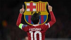 Philippe Coutinho Barcelona Crest
