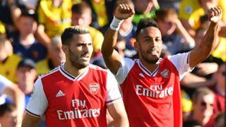 Pierre Emerick Aubameyang Arsenal Watford