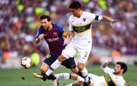 Lionel Messi Barcelona Boca 15082018