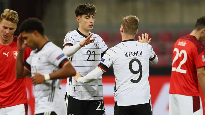 Kai Havertz Timo Werner Germany 2020