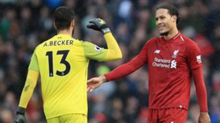 Alisson Van Dijk Liverpool 2018-19