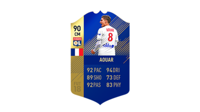 FIFA 18 Ligue 1 Team of the Season Aouar
