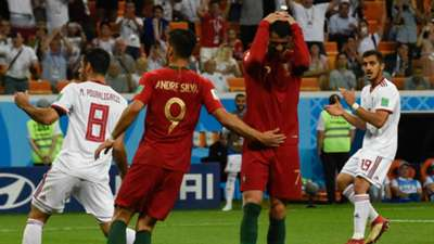 Ronaldo Portugal vs Iran Missed penalty kick World Cup 2018