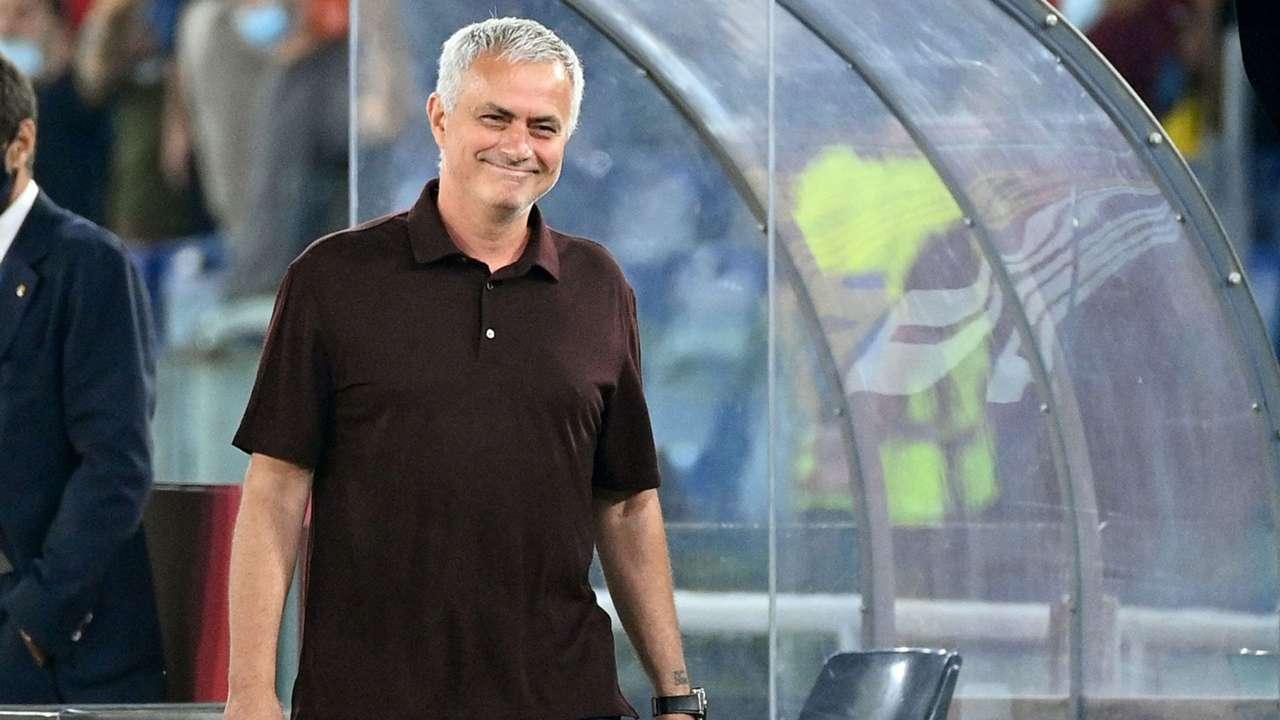 Jose Mourinho Roma Sassuolo Serie A