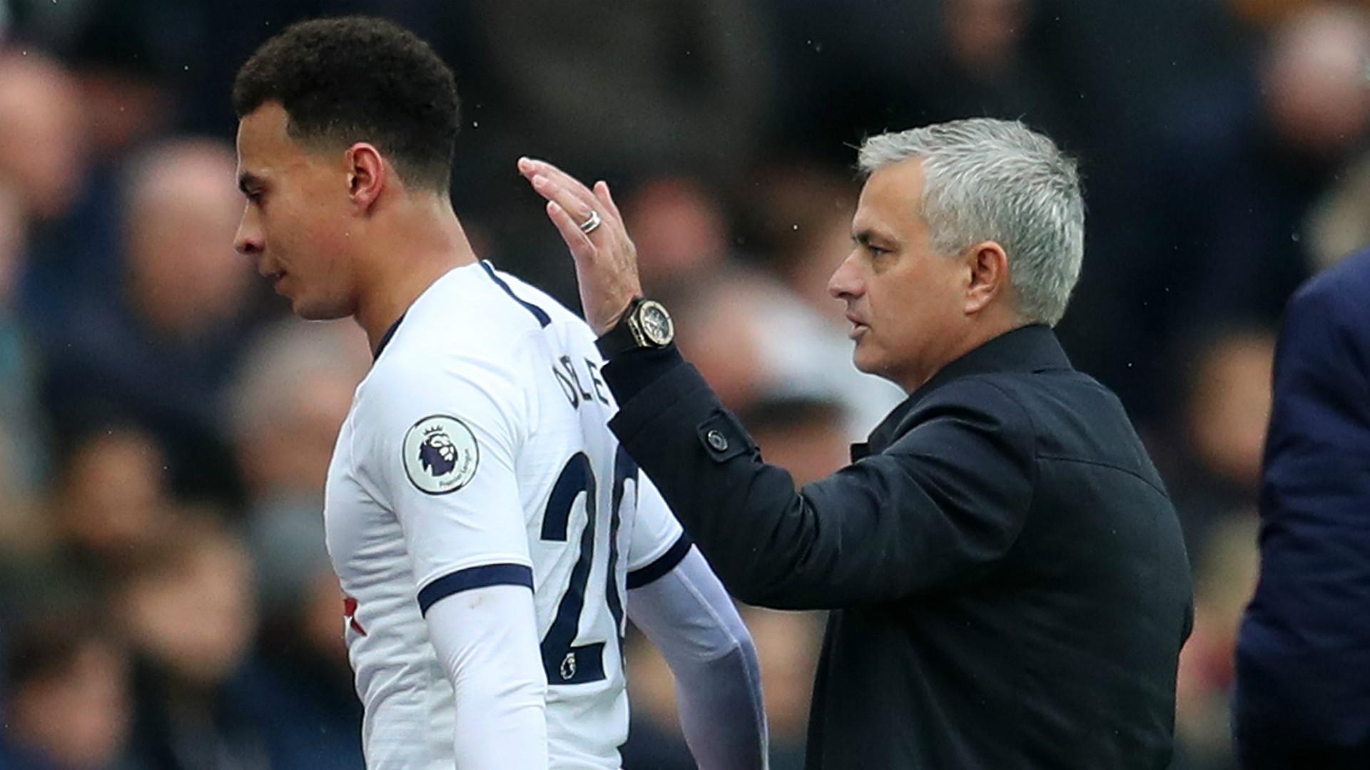 Mercato - José Mourinho ne croit pas à un départ de Dele Alli