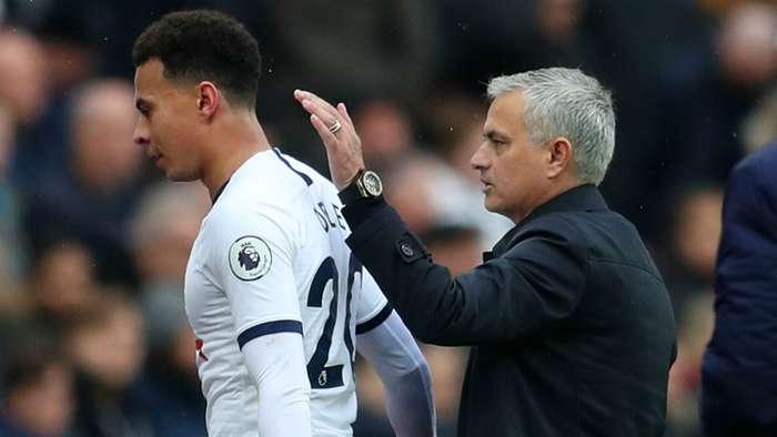 Dele Alli Jose Mourinho Tottenham 2019-20