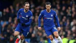 2019-02-04 Gonzalo Higuain Eden Hazard