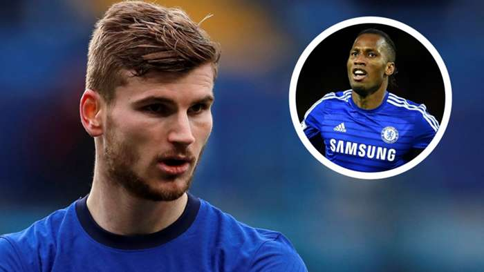 Timo Werner Didier Drogba