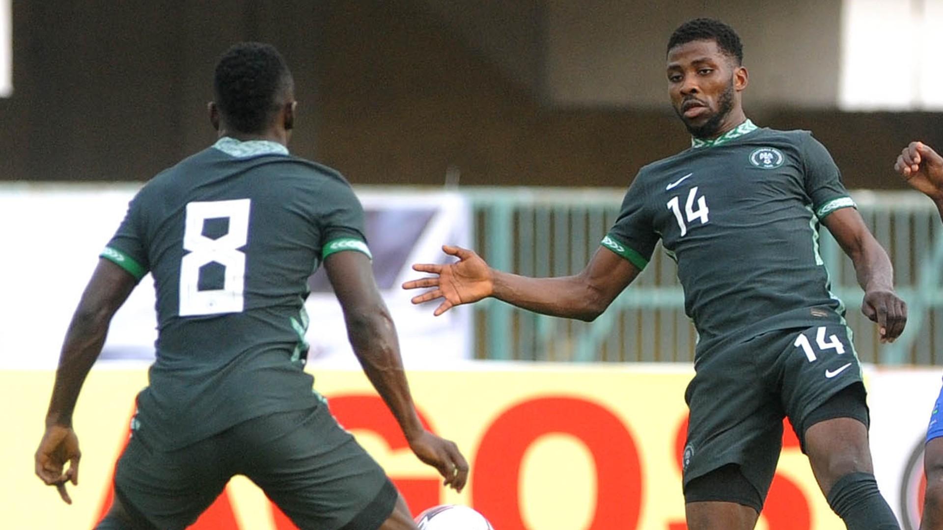 Nigeria vs Cameroon: Iheanacho & Onuachu lead Super Eagles attack