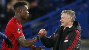 Ole Gunnar Solskjaer Paul Pogba Manchester United