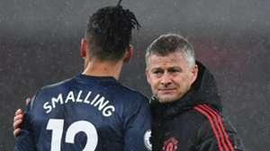 Ole Gunnar Solskjaer Chris Smalling Manchester United 2018-19