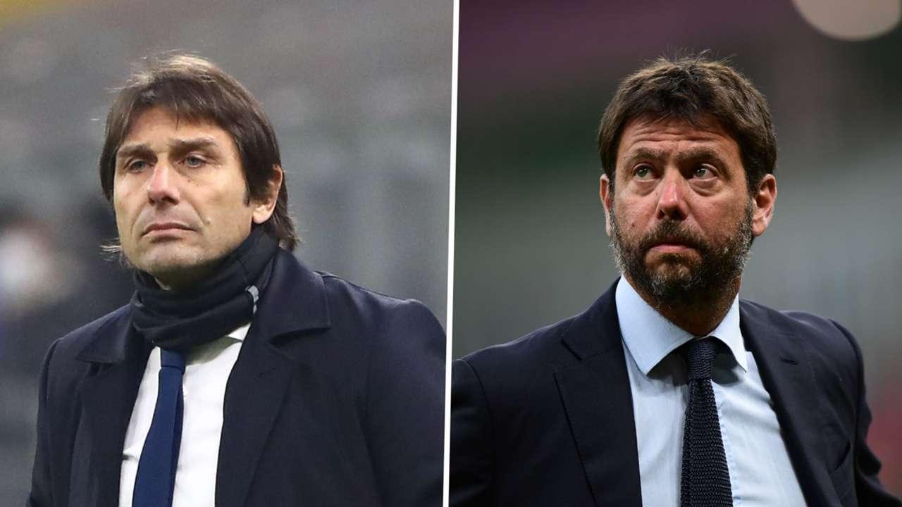 Antonio Conte Andrea Agnelli Inter Juventus