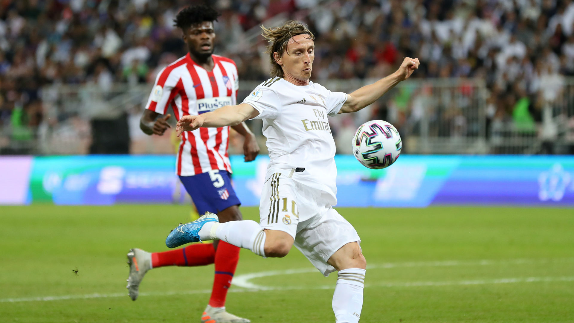 Thomas Partey's penalty miss gifts Real Madrid Spanish Super Cup