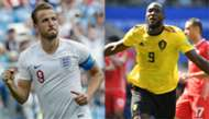 England Belgium Harry Kane Romelu Lukaku 280618
