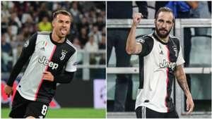 Aaron Ramsey Gonzalo Higuain Juventus