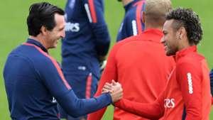Unai Emery Neymar PSG Ligue 1