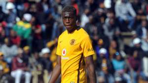 Teenage Hadebe of Kaizer Chiefs
