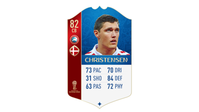 FIFA 18 UEFA World Cup Ratings Christensen