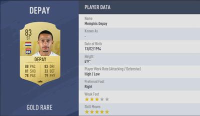 Memphis Depay | FIFA 19