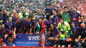 Barcelona 2006 Champions League winners