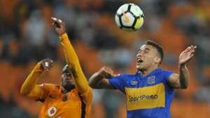 Willard Katsande, Kaizer Chiefs and Matthew Rusike. Cape Town City