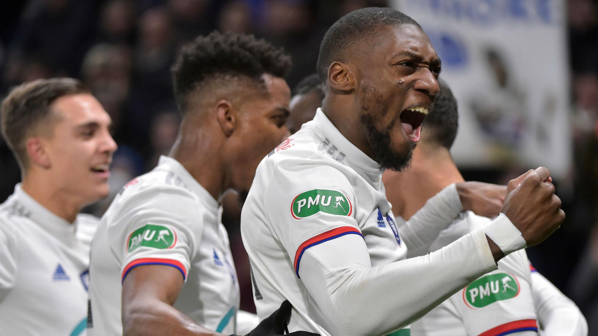 Toko Ekambi bags brace, Kadewere and Aholou score as Lyon edge past Strasbourg