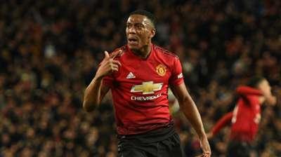 Anthony Martial Man Utd 2018-19