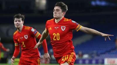 Daniel James scores for Wales vs Czech Republic 2021