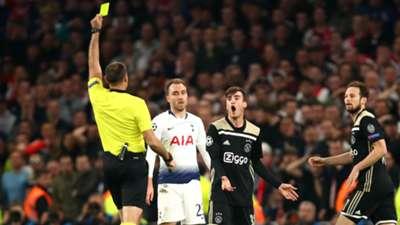 Tagliafico Tottenham Ajax Champions League